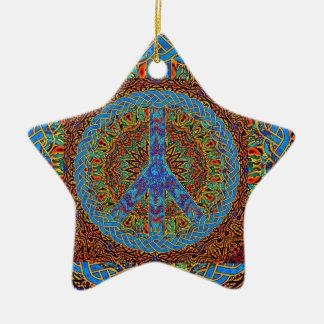 Friedliches Leben 2 Keramik Ornament