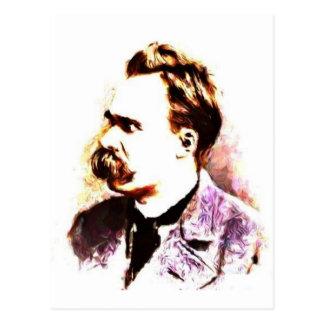 Friedrich Nietzsche Postkarte