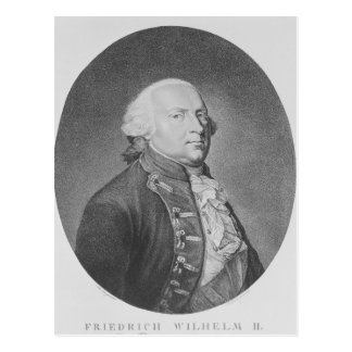 Friedrich Wilhelm Ii von Preußen Postkarte