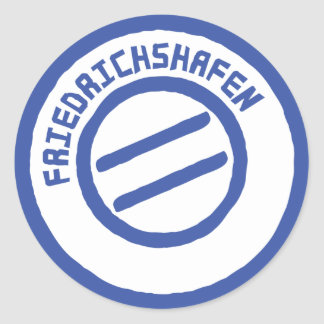 Friedrichshafen-Posten stempel Briefmarke Sticker