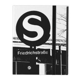 Friedrichstrasse_01.01.2_G_illu, S-Bahn, BERLIN iPad Schutzhüllen