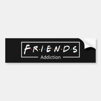 Friends Addiction Autoaufkleber