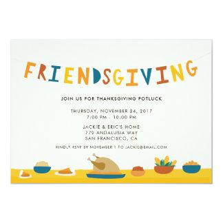 Friendsgiving Party Einladung