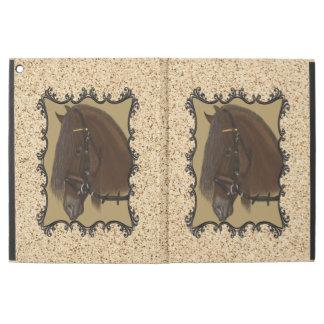 Friesisches Entwurfs-Pferd Browns