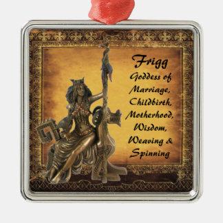Frigg Silbernes Ornament