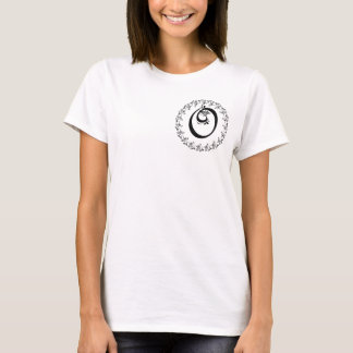 Frilly O-Monogramm T-Shirt