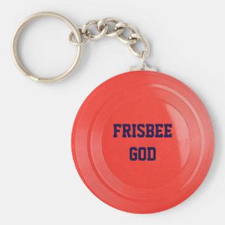Frisbee-Beschaffenheit personalisiertes Keychain Schlüsselanhänger
