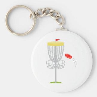 Frisbee-Disc-Golf Schlüsselanhänger