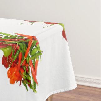 Frisch ausgewählte Paprika-Baumwolltischdecke Tischdecke