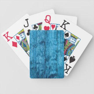 Frisch gefärbte blaue handgemachte thailändische bicycle spielkarten
