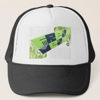 Frisch: Maschen-Logo-Fernlastfahrer Truckerkappe