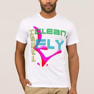 frisch säubern Sie Fliege T-Shirt