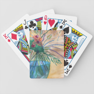 Frische Blumen Bicycle Spielkarten