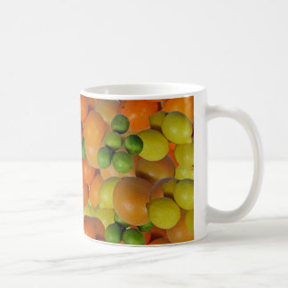 frische Frucht Kaffeetasse