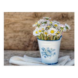 Frische Frühlings-Blumen Postkarte