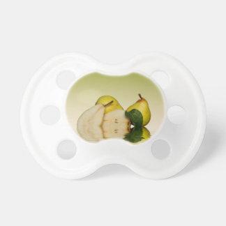 Frische grüne Birnen-Frucht Schnuller