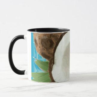 Frische hawaiische Kokosnüsse Tasse