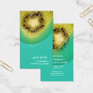 Frische Kiwi für Bio Züchter Visitenkarte