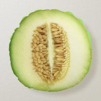 Frische Melone-rundes Kissen