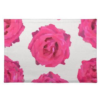 frische Rosen Tischset