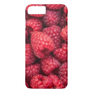 Frische rote Himbeeren iPhone 8 Plus/7 Plus Hülle