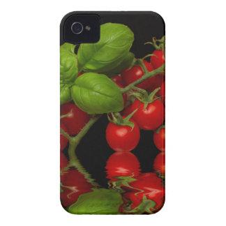 Frische rote Kirschtomaten iPhone 4 Case-Mate Hülle