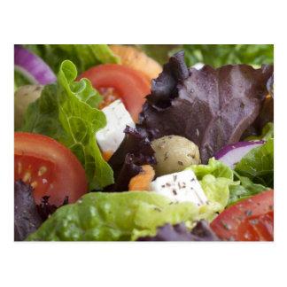 Frische Salat-Postkarte Postkarte