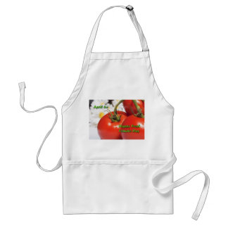 Frische Tomate-TagesSchürze am 6. April Schürze