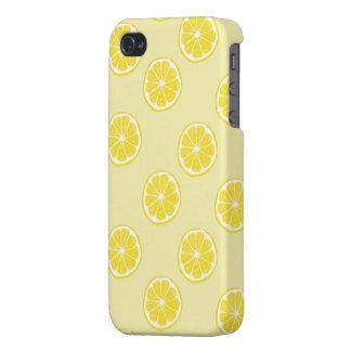 frische Zitrone trägt Muster iphone 4 Früchte iPhone 4 Schutzhülle