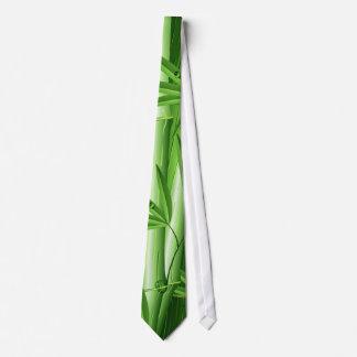 Frischer Bambus mit Tau-Krawatte Krawatte