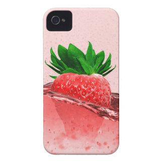 Frischer Erdbeersaft iPhone 4 Hüllen