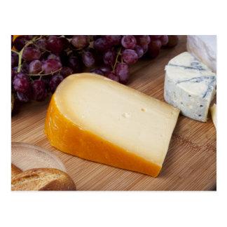 Frischer holländischer Käse Postkarte