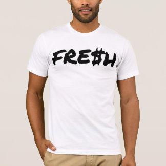 Frischer weißer T - Shirt