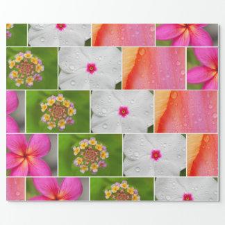 Frisches BlumenPackpapier Geschenkpapier