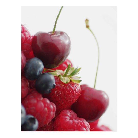 Frisches Früchte Bild .jpg Postkarte