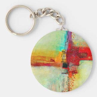 Frischfarbe Schlüsselanhänger