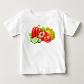 Frischgemüse Baby T-shirt