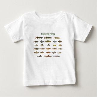 Frischwasserfischen Baby T-shirt
