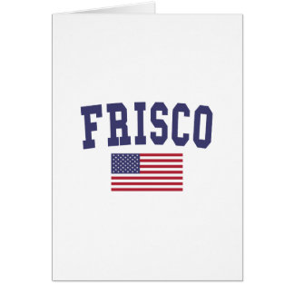 Frisco US Flagge Karte