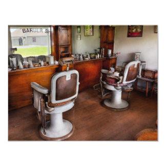Friseur - der Haar-Stylist Individuelle Einladungen
