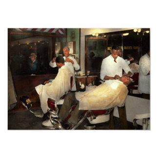 Friseur - eine altehrwürdige Tradition 1941 12,7 X 17,8 Cm Einladungskarte
