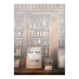 Friseur - Haarfärbemittel Personalisierte Ankündigungen