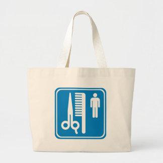 Friseur-Landstraßen-Zeichen Tasche