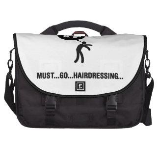Friseur Notebook Taschen