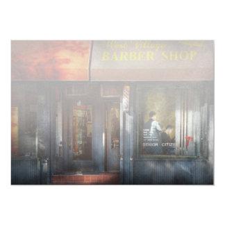 Friseur - NY - Westdorf-Friseursalon Individuelle Ankündigskarten