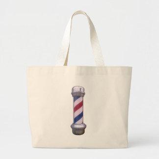 Friseur Pole Einkaufstaschen