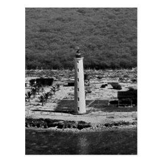 Friseur-Punkt-Leuchtturm Postkarte