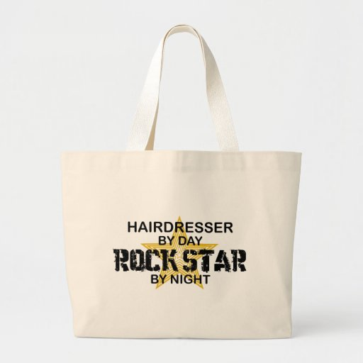 Friseur-Rockstar bis zum Nacht Taschen