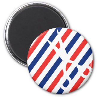 Friseur-Scheren Runder Magnet 5,7 Cm