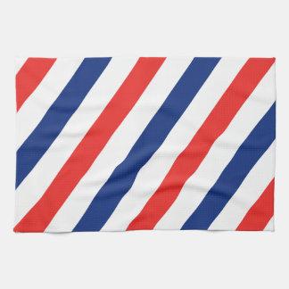 Friseur-Streifen Geschirrtuch